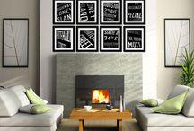 Fireplace Art size