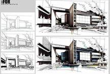 건축스케치