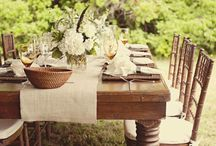 dining tables / by Lesa Weber