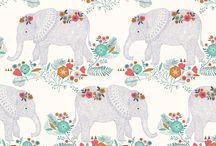 Animal Theme Nursery Inspiration / Create a WILD animal themed nursery or baby room! Safari nursery | Jungle nursery | Animal Theme Baby Room