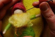 Collection of Needle Felting Tips