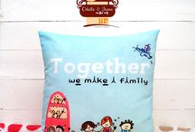 Odelle's Cushion Cover / Cushion cover