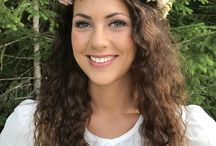 floral wreath / Blumenkränze als Haarschmuck
