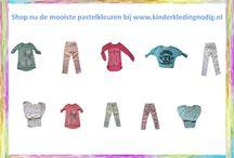Voorjaarscollectie 2014 / Shop nu de mooiste pastelkleuren bij www.kinderkledingnodig.nl