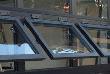 Custom Glass Garage Door Options / Custom glass garage door options such as finish, glazing, design, and panels.