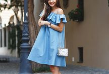 TREND SS2016 OFF THE SHOULDER RUFFLES - HOW TO WEAR AN OFF THE SHOULDER DRESS