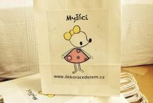 Decorations for kids- Mysici / decorations for kids, 100% handmade by me, unique and high-quality  www.dekoracedetem.cz