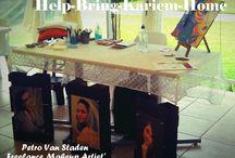 Help Bring Karliem Home fundraiser / www.facebook.com/pages/Help-Bring-Kariem-Home