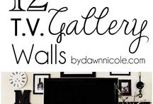 TV Gallery walls