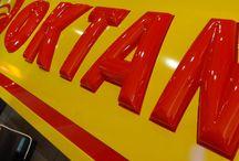 Litery termoformowane 3D / 3D letters vacuum moulding / Litery 3d, 3d letters, 3D lettering, 3D letters vacuum moulding, litery 3d podświetlane, illuminated letters, producent reklam, Graffico