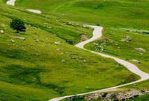 Roads to ride - dreams / Pictures of roads that I want to cycle before I die