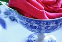 napkin folds / by Saundra Hadley