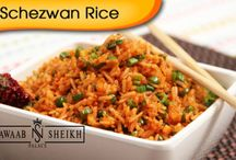Fried Rice / Check this board to know more about available Fried Rice from our Nawaab Sheikh Palace, Perungudi.