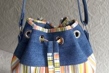 Bags for old jeans