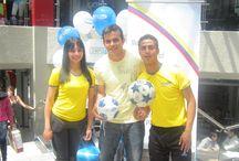 Compumax Mundialista Junio de 2013 / Evento realizado para los distribuidores Compumax, entrega de premios, show de free Style futbol y muchas cosas mas.