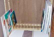 Canvas Storage Ideas