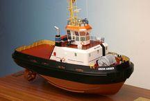 Remolcadores / Maquetas | Modelos navales de Remolcadores