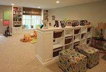 over garage bonus room ideas / by Ashley Owens