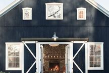 Barn Style Homes / architecture, barn style, design ideas, design inspiration, home exteriors, barns
