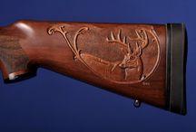 Gun stock carvings