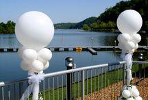 Weddings-Outdoor Balloons