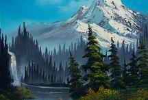 Hory, lesy obrazy
