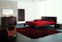 Red Rugs In Room