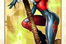 super heros and villans