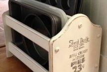 Kitchen storage ideas / Cupboards