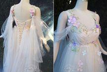 Fairy/pixie wedding / fantasy wedding based on fairy's and pixie's.