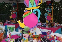 mad hatter centre pieces
