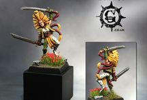 Warhammer FB - Wood Elves / Warhammer Fantasy Battles | Wood Elves | Collection of miniatures painted by modellers from all over the world.