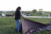 Early Travels with Nish Nung / Nish is of the Chippiwa tribe and of the Millac Band - though his band is the Azhimook of Lake Lena, Minn. He is my brother. We have traveled together for many years.