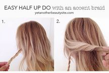 Simple hair do