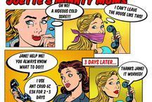 Mighty Moms Comic Strip