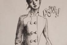 fashion illustration / by Fiona Byrne