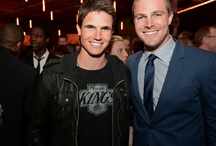 Stephen and Robbie Amell