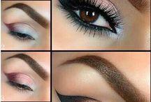Ideas de maquillaje y peinado