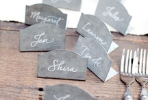 Calligraphy / by NY Wedding Planner - Caitlin Russotti