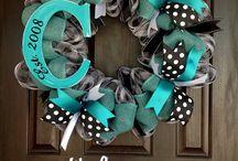 door wreaths ideas