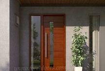 Diseño cochera y fachada