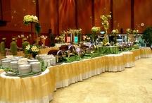 Dekorasi Acara Pernikahan / dekorasi meja, ruangan, gedung, catering display acara pernikahan.