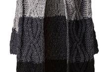 strikke jakker