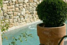 Mur piscine