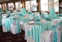 Wedding Table Settings - Bröllopsdukningar