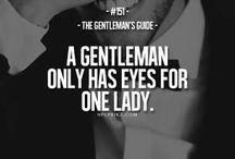 gentleman's guide/code