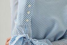 Handmade - strihy rukávy, goliere, detaily