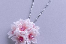 beads flower・leaf・aninsect