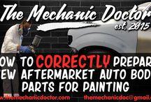 Auto Body Repair Tutorials / Various auto body repair tutorials