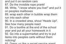 Things to do with friends